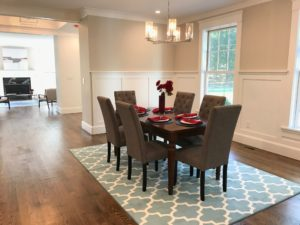Simply Stage It dining room